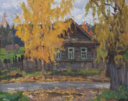 картины осени русских художников: