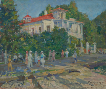 Картины художника Модоров Федор Александрович