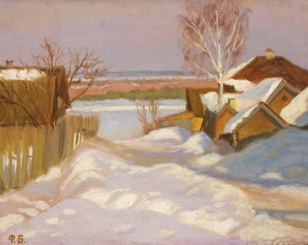 Картины художника Богородский Федор Семенович