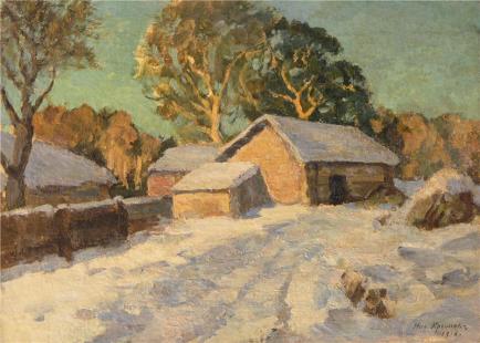 Картины художника крымов николай