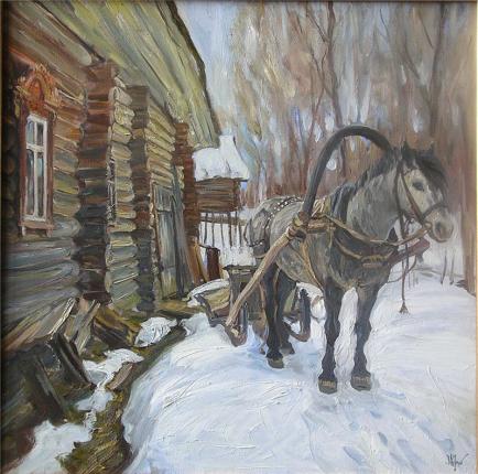 Картины художника Фаюстов Максим Васильевич