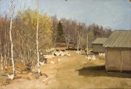 Картины художника Сергеев Николай Сергеевич