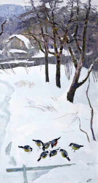 Картины художника Нахалов Борис Павлович