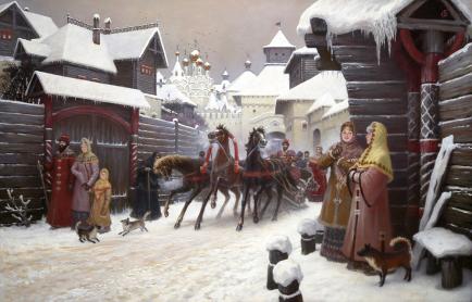 Картины художника Ольшанский Борис Михайлович