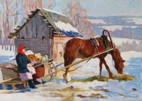 Картины художника Шапаев Фёдор Васильевич
