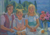 Картины художника Сергеева Нина Алексеевна