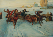 Картины художника Колесник Борис Афанасьевич