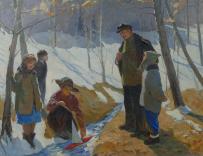Картины художника Самойлов Лев Самойлович