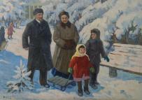 Картины художника Шаулов Николай Степанович
