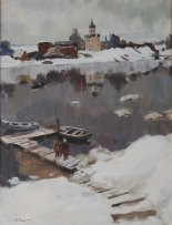 Картины художника Репин Николай Никитович