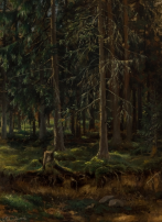 Картины художника Шишкин Иван Иванович
