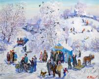 Картины художника Топков Валерий Александрович