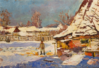 Картины художника Хамин Дмитрий Иванович