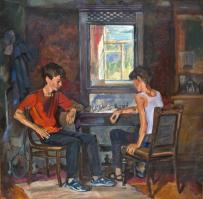 Картины художника Крутов Николай Петрович